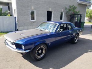 Restored 1967 Ford Mustang
