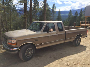 1992 Ford F-250 lariat camper special long box 2wd 460 ext cab