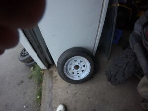 trailer tire for sale. never used  5.30 x12