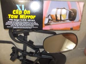 X-LARGE CLIP ON TOWING MIRRORS