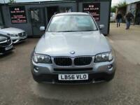 2006 BMW X3 2.0d SE 5dr ESTATE Diesel Manual