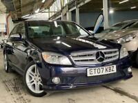 2007 Mercedes-Benz C Class 1.8 C200 Kompressor Sport 4dr Saloon Petrol Automatic