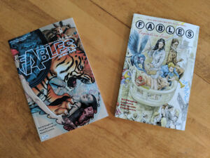 Fables graphic novels (books 1 and 2)