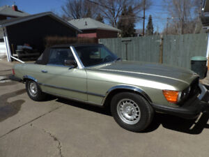 1980 MERCEDES BENZ 450 SL R107 CONVERTIBLE