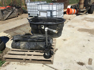 Used pond supplies