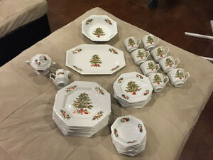 TIENSHAN CHRISTMAS CHINA - PEACE ON EARTH PATTERN