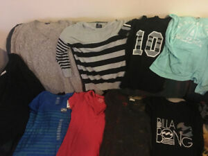 $100 LOT OF CLOTHING, $200 VALUE