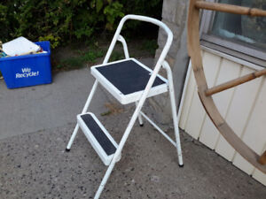 CHOICE OF 3 STEP LADDERS   IN FINE CONDITION ONLY $ 14.00  EACH