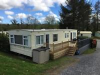 Static caravan for sale sited near Narbeth Pembrokeshire