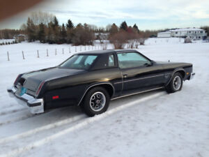 1977 cutlass supreme brougham estate sale