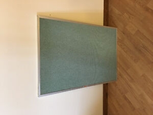 Large Double Sided post board cork board OBO