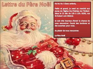 PÈRE NOEL - MARCHÉ AUX PUCES - 14-15-16 DÉC