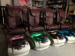 7 Pedicure chairs for sale
