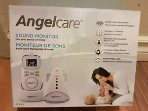 Angel care sound baby monitor