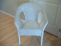 Antique Wicker Chair