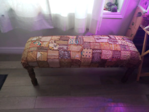 Patchwork bench from pier1