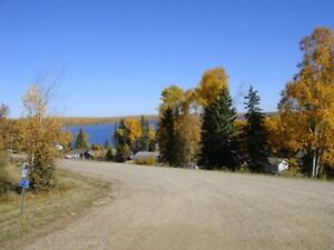 Land for sale overlooking Cold Lake