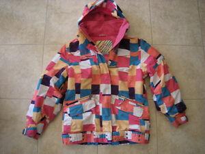 Manteau d'hiver pour filles avec capuchon