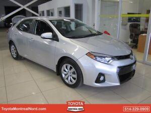 Toyota Corolla S Aut/Ac/Vitres,Portes,Miroirs Electriques 2016