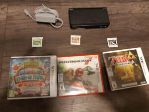 Super Mario Editon 3DS with 7 3DS games
