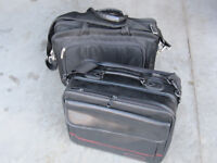 Targus and HP carry bags