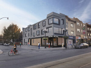 Prime Corner Retail Space - St. Clair West - Regal Heights