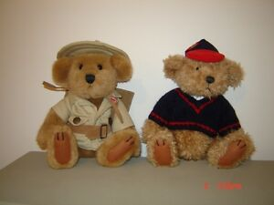 Brass Button Bear collection - Jungle Joe and Tully London Ontario image 1