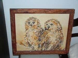 PELS FISHING OWLS by LIN BARRIE