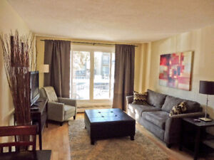 FULLY FURNISHED CONDO - INCL. EVERYTHING - DT CALGARY