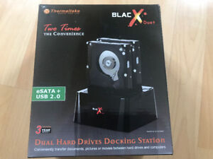 Dual Hard Drives docking Station