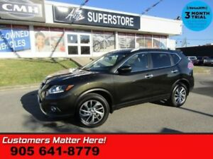 2014 Nissan Rogue SL  AWD NAV LEATHER ROOF PWR-GATE HS CAM