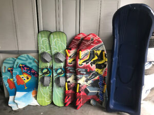 Snowboards and Misc.