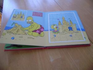 THE SIMPSONS JIGSAW PUZZLE BOOK Windsor Region Ontario image 2