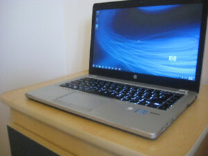 "14"" HP ultrabook, Core i5, 16GB RAM, 256GB SSD, Backlit Keyboard"