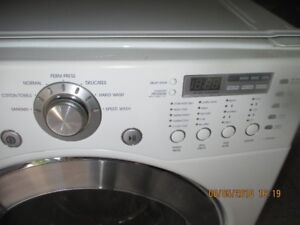 LG FRONT LOAD clothes dryer