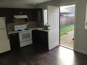 Fully renovated 2 bedroom 1 full bath main level suite