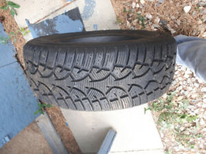 2 Winter Tires for a 2002 Chrysler Intrepid
