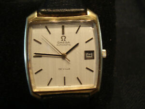 Authentic 18k.750 Solid Gold Omega Deville Automatic Watch(MEN)