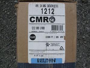 cable Belden CAT 5e 4 paires