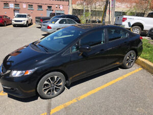 Honda Civic 2015 EX - lease takeover - 10 months, 63,000 KM left