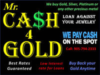 Mr Cash for Gold: We buy and Loan GOLD & SILVER