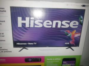 """HISENSE 65"""" SMART TV WI-FI 4K UltraHD $599"""