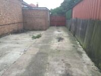 Two garages and a yard to Let In Perivale, Greenford just off the A40- Rental per month £900