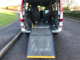 MERCEDES BENZ VITO 111 2.2 CDI (2006) EXTRA LWB AUTOMATIC E/RAMP 1 OWNER