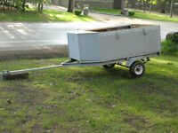 UTILITY TRAILER C/W OWNERSHIP
