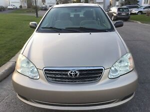 Toyota Corolla 2005 with 120000kms