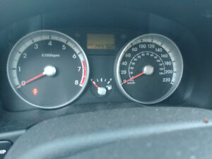 2009 hyundai accent hatchback. 144000km. Saftied and e tested.