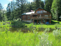 New Custom 2acre Lake Front Home