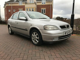 Vauxhall Astra 1.6I ACTIVE (silver) 2003