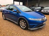 HONDA CIVIC I-VTEC TYPE-S Blue Manual Petrol, 2007